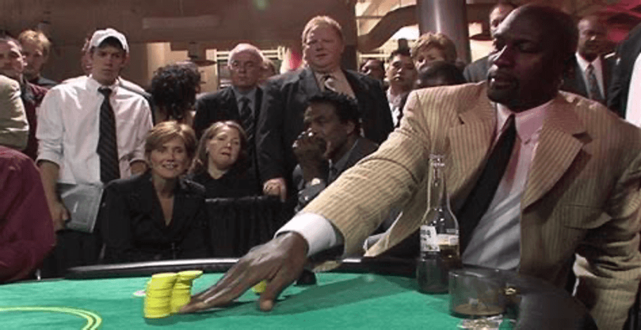 Celebrity in a casino - Michael Jordan